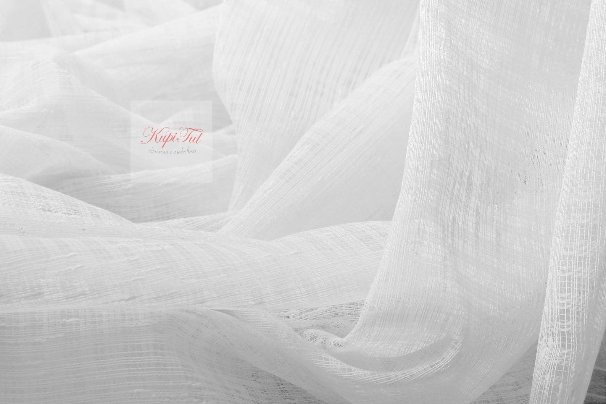 Шторы Дождик-2 (белый)