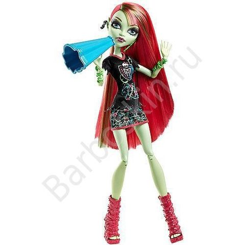 Кукла Monster High Венера Макфлайтрап (Venus McFlytrap) - Группа поддержки Ужаса