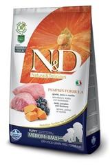 Корм для щенков средних и крупных пород Farmina N&D Pumpkin Lamb & Blueberry Puppy Medium & Maxi с ягненком и черникой