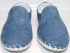 Летние мужские туфли с перфорацией Alvito 01-1308 92-86