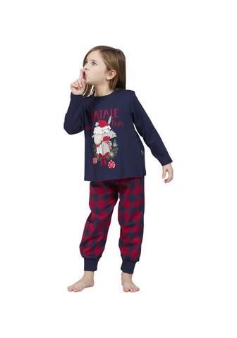 Новогодняя пижама для девочки