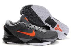 Kobe 7 Gray Orange