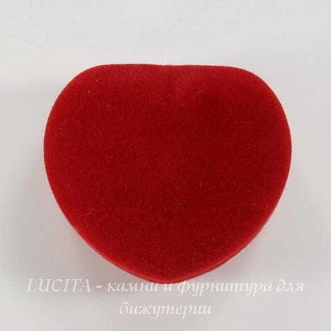 """Подарочная коробочка """"Сердце"""" (цвет - красный), 50х44х36 мм"""