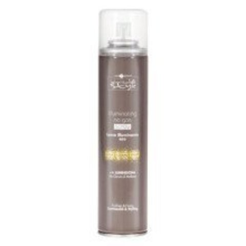 INIMITABLE STYLE Illuminating Medium Spray No Gas 300ml Спрей без газа, придающий блеск. Средней фиксации