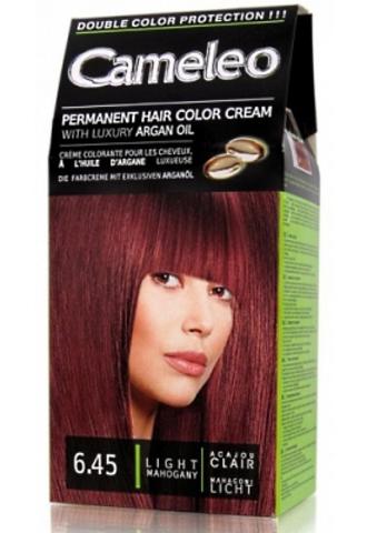 Delia Cosmetics Cameleo Крем-краска для волос тон 6.45 светлый махагон