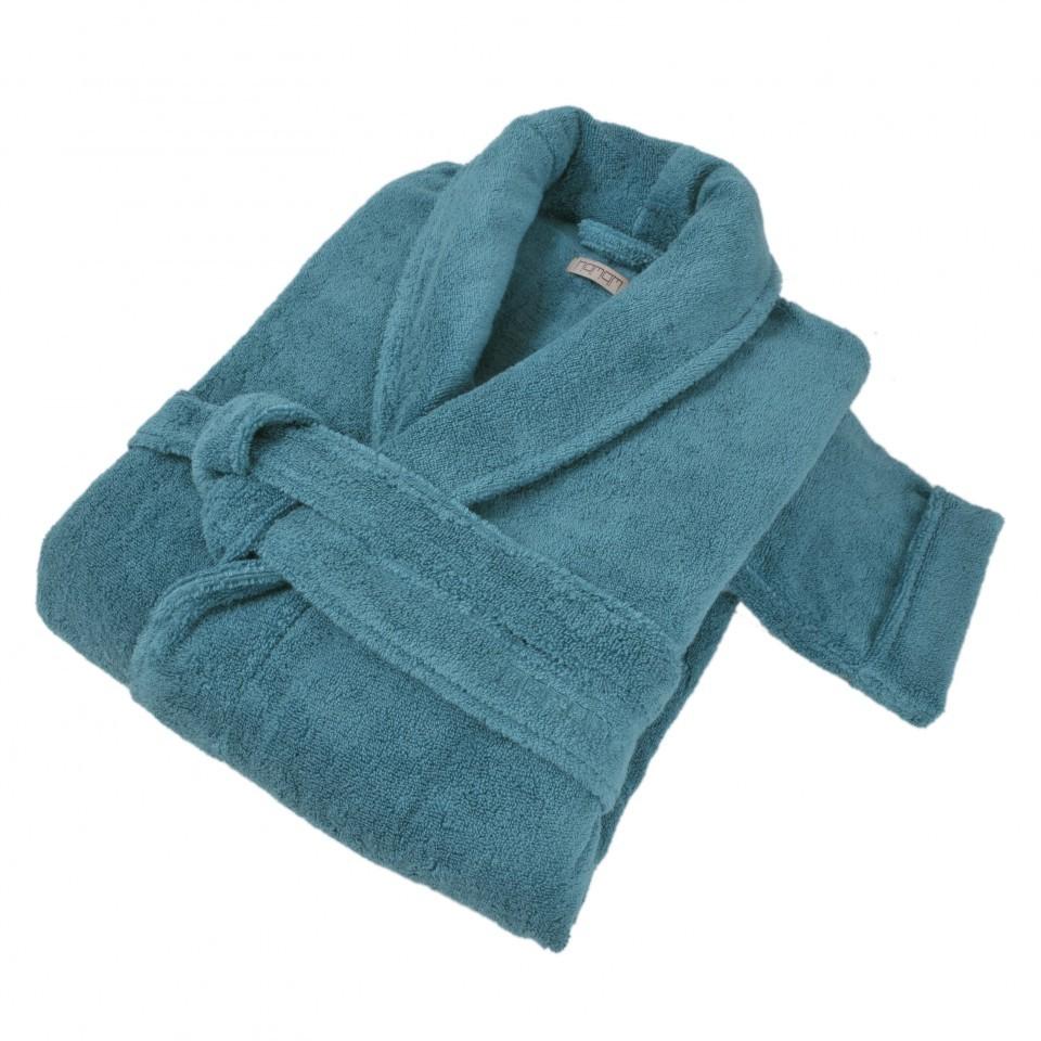 Элитный халат махровый Pera изумрудный от Hamam