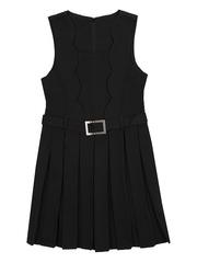 ОД301 сарафан для девочек, черный