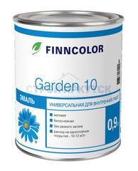 Эмаль алкидная Finncolor Garden 10 мат. для внутр. раб., основа A, 0,9л