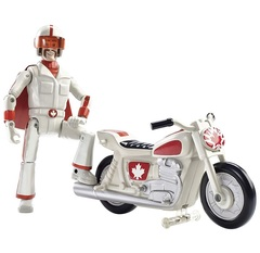 Фигурка Дюк Кабум (Duke Caboom) на мотоцикле - История игрушек 4, Mattel