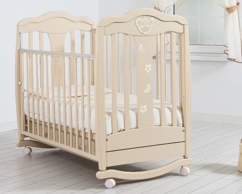 Детская кроватка Гандылян  Мишель качалка