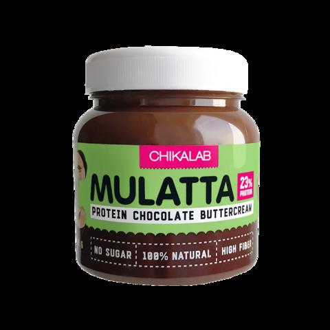 Паста Chikalab Mulatta Шоколадная с фундуком, 250 гр