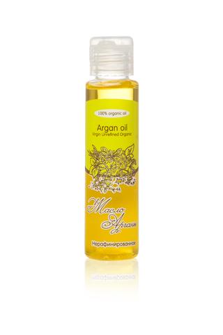 Масло АРГАНЫ Argan Oil Virgin Unrefined Organic нерафинированное, 50 ml