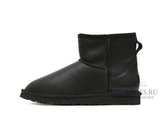 UGG MINI CLASSIC METALLIC BLACK