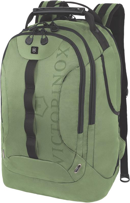 Рюкзак Victorinox VX Sport Trooper 16'', зелёный, полиэстер 900D, 34x27x48 , 28 л