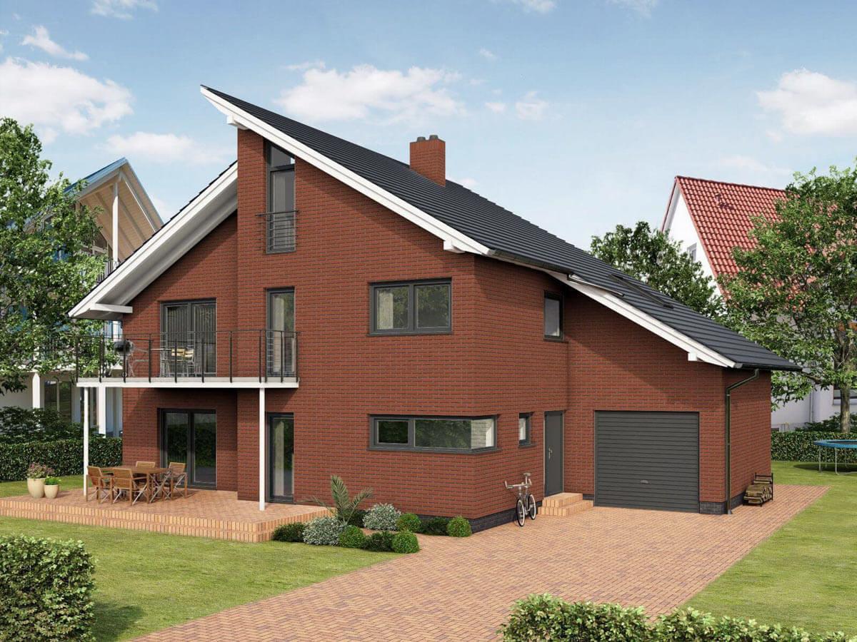 Feldhaus Klinker - R400NF9, Classic Carmesi Liso, 240x9x71 - Клинкерная плитка для фасада и внутренней отделки