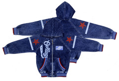 AD8188 куртка джинсовая звезды