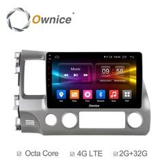 Штатная магнитола на Android 6.0 для Honda Civic 06-12 Ownice C500+ S1647P