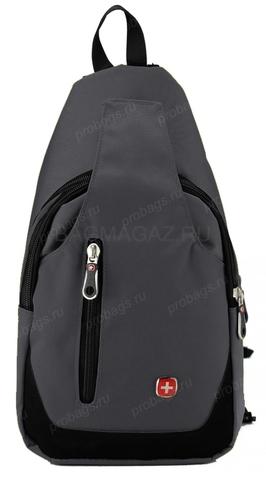 Однолямочный рюкзак SWISSWIN SX-6990 Grey