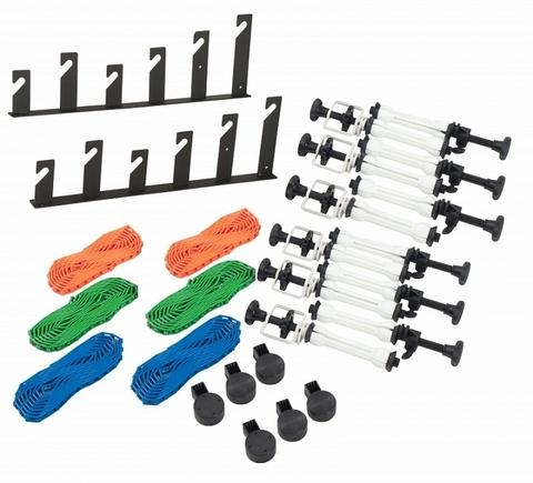 Ручная система установки и подъема 6-ти фонов Lumifor LAC-BR6