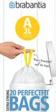 Пакет пластиковый 3л 20шт, артикул 311727, производитель - Brabantia