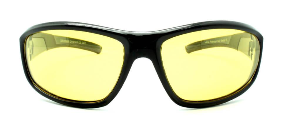 Очки поляризационные для рыбаков туристов водителей LORIS DZP220009-C1 желтые 89%