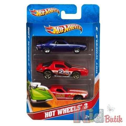 Подарочный набор автомобилей (3 шт.) Hot Wheels