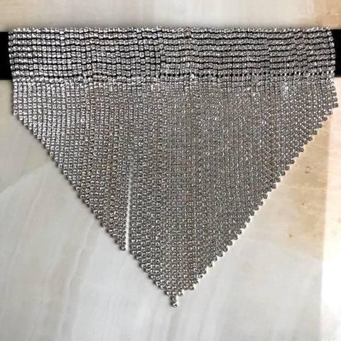 Колье Климена, серебряный цвет