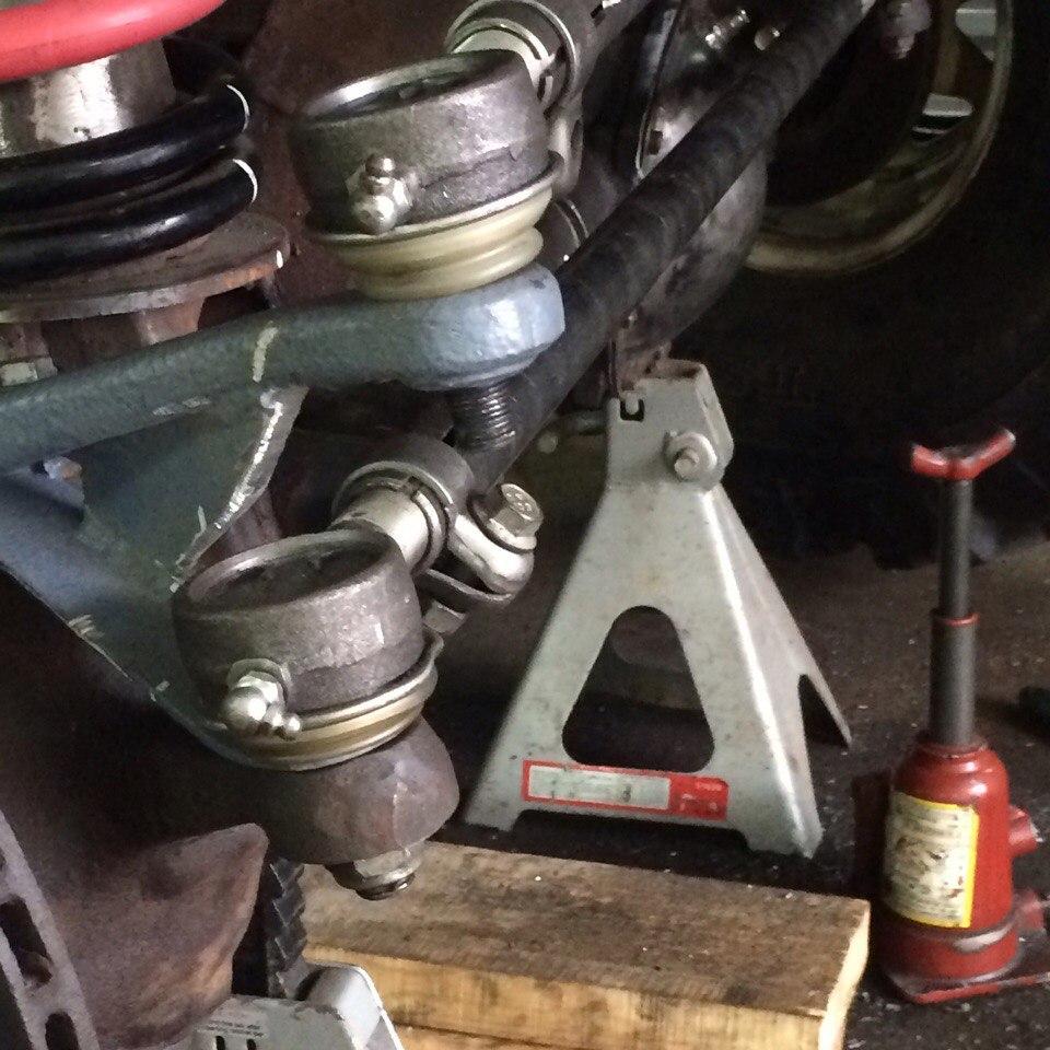 Усиленные рулевые тяги и наконечники
