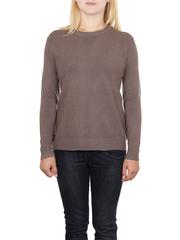 MS1742-5 кофта женская, коричневая