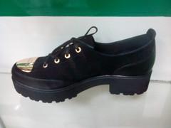 Туфли на платформе женские El Passo Gold