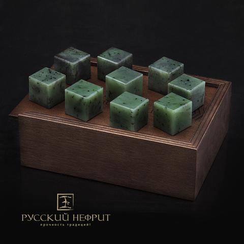Камни для охлаждения напитков из нефрита