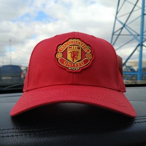 Кепка Манчестер Юнайтед красная (Бейсболка Mancester Unayted)