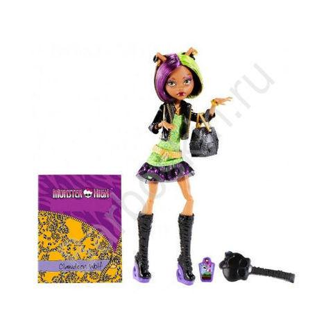 Кукла Monster High Клодин Вульф (Clawdeen Wolf) - Новый Cкарместр