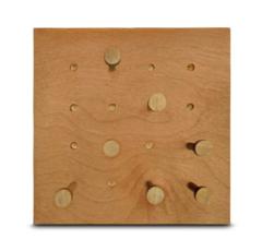модуль с грибочками 220х220 см, медовый