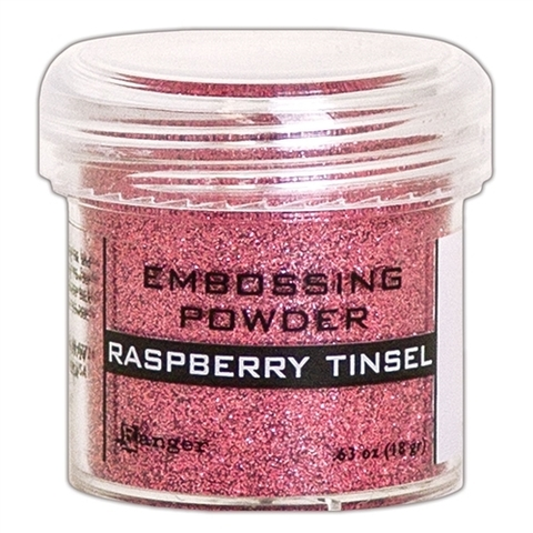 Пудра для эмбоссинга Ranger Ink- RASPBERRY TINSEL