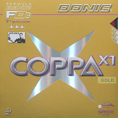 DONIC Coppa X1 ( Gold )