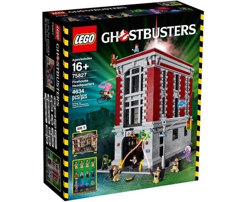LEGO Ghostbusters: Штаб-квартира Охотников за привидениями 75827