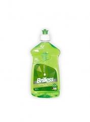 Средство для мытья посуды Brilless Green apple 0.5л