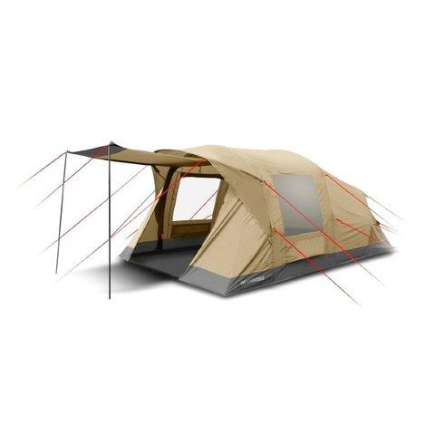 Кемпинговая палатка Trimm Family Texas, 4+2 (песочная, синяя)