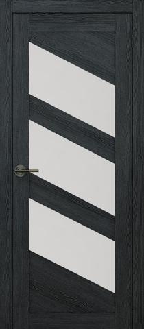 Дверь APOLLO DOORS F16, стекло матовое, цвет дуб серый, остекленная