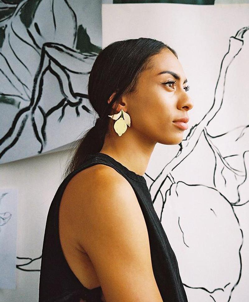 Серьги Lemon Earrings