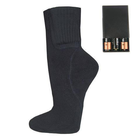 Комплект-подарок носки с подогревом RL-N-01 (AA) и Греющий комплект ЕСС ГК 3 модуля с USB разъёмом