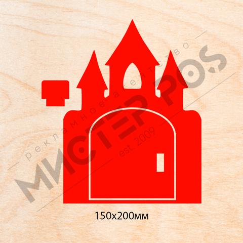 Дверь замок из фанеры 8 мм