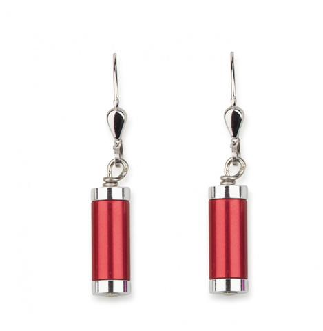 Серьги Coeur de Lion *11E цвет красный, серебряный