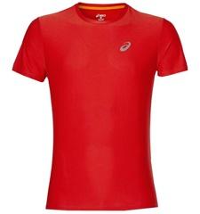 Мужская беговая футболкаAsics SS 134084 0626 красная