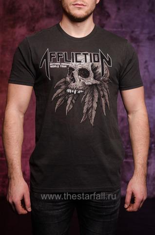 Двусторонняя футболка Affliction AC REMAINS
