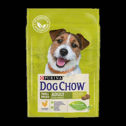 Dog Chow Adult Small Сухой корм для собак мелких пород с Курицей
