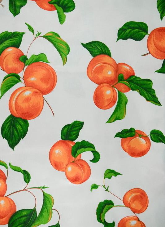 Скатерть 150x180 Vingi Ricami Armonia персик