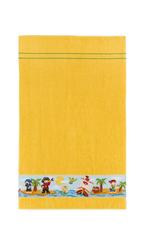 Полотенце детское 50х80 Feiler Korsar желтое