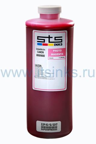 Пигментные чернила STS для Canon Photo Magenta 1000 мл